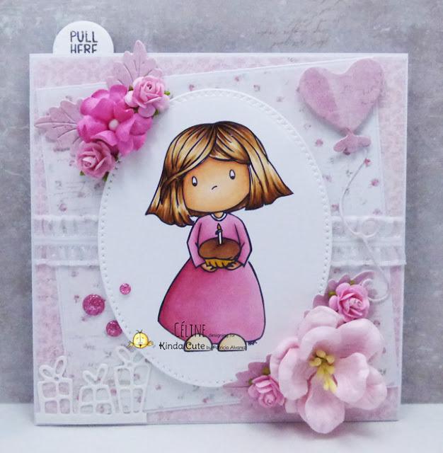 Birthday card by Céline