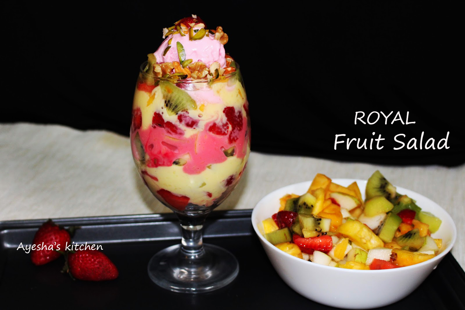 ROYAL FRUIT SALAD - BEST FRUIT SALAD RECIPE