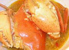 Resep praktis (mudah) gulai kepiting spesial (istimewa) enak, sedap, lezat