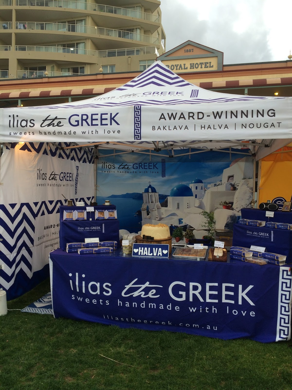 Port Macquarie Tastings on Hastings Night Festival Greek Food