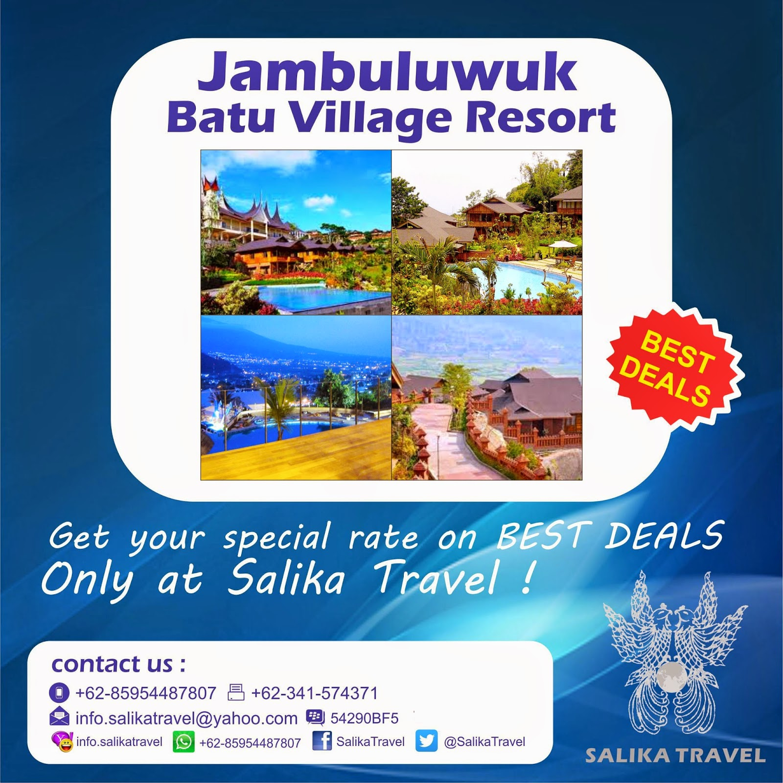 Jambuluwuk Batu Village - Salika Travel