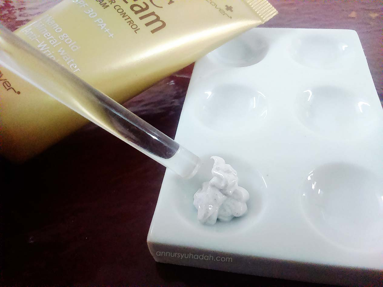 Gold Nano CC Cream Hansaegee Nature,