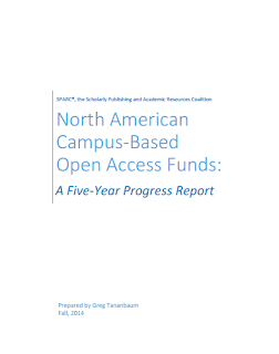 North American Campus-Based Open Access Funds