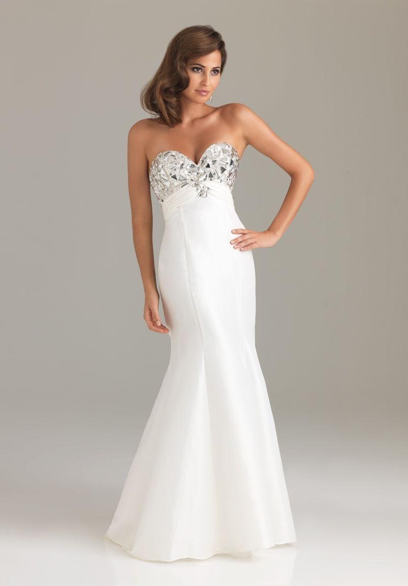 Beautiful White Prom Dresses | www.imgkid.com - The Image ...