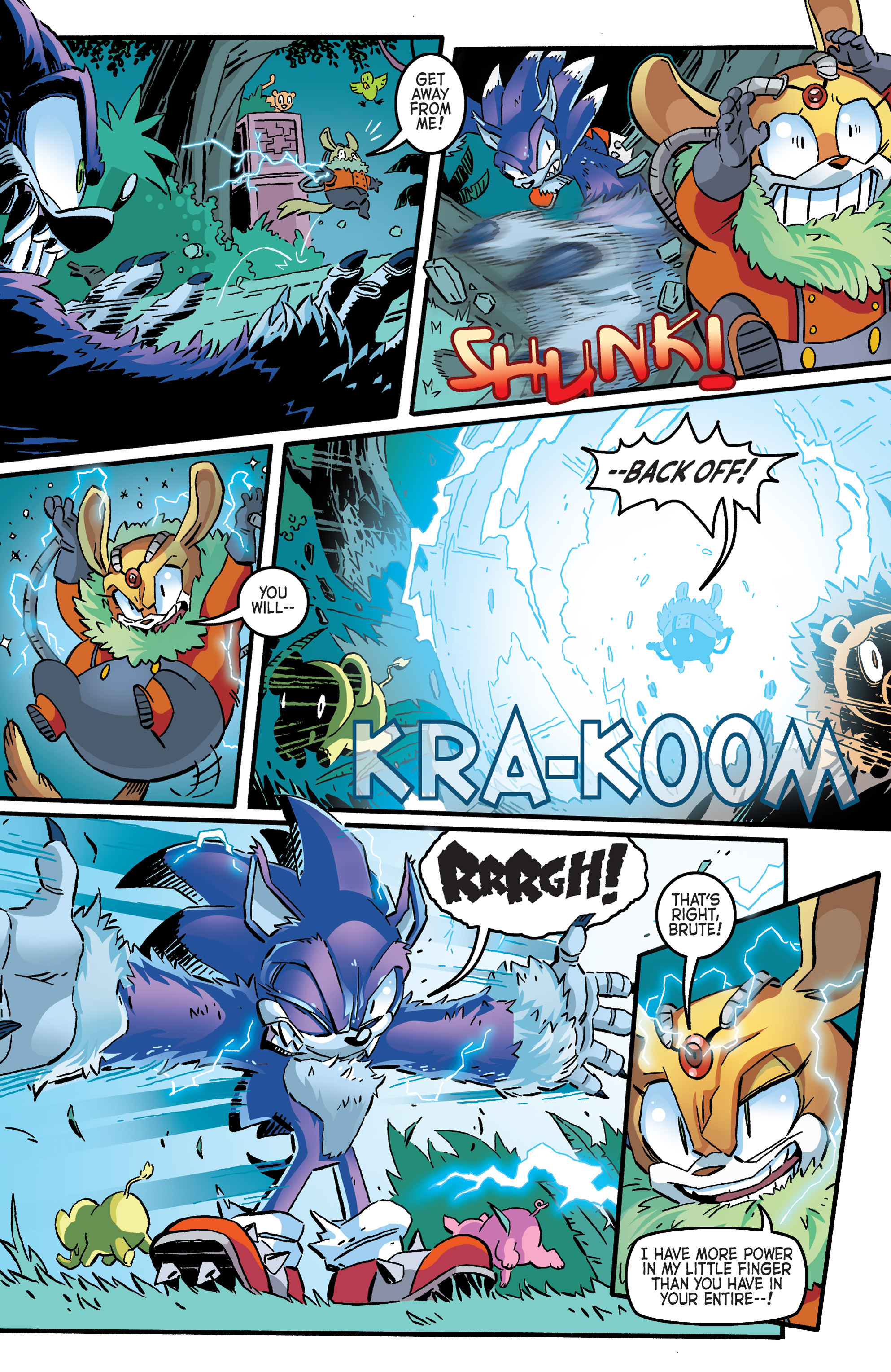 Read online Sonic The Hedgehog comic -  Issue #265 - 7