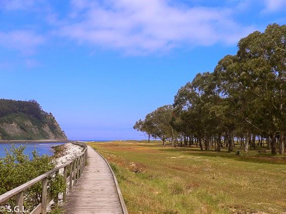 Playa de Rodiles. Asturias. Hoy compartimos-Calles, caminos y carreteras