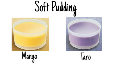 Soft pudding