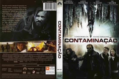 Filme Contaminação DVD Capa