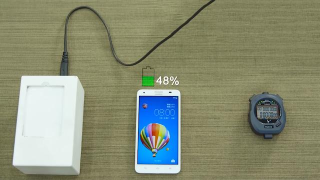 Huawei se laudă cu o baterie de 3000mAh care se încarcă în 5 minute la 48% din capacitate