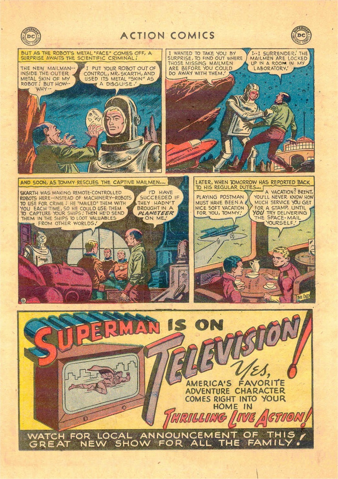 Read online Action Comics (1938) comic -  Issue #181 - 29
