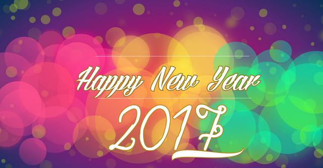 Happy New Year 2017 wishes in gujarathi