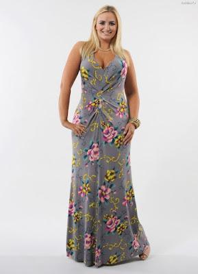 vestidos de moda tallas grandes