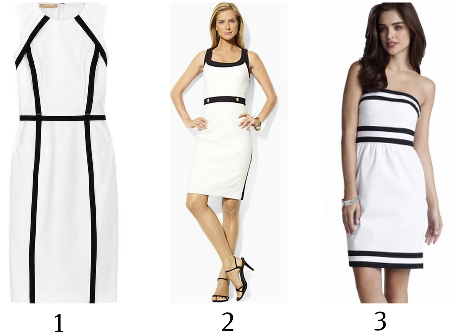 Michael Kors White Dress Splurge And Steal
