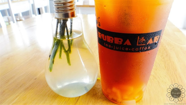 Bubba Lab Philippines: Large Lychee Fruit Tea (Review at www.TheGracefulMist.com)