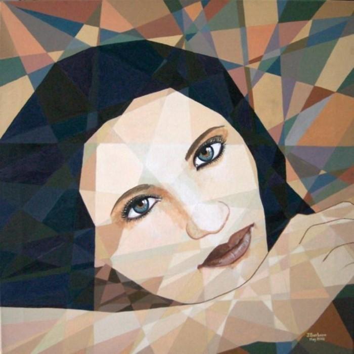 В призматическом и сюрреалистическом стилях. Joseph Barbara