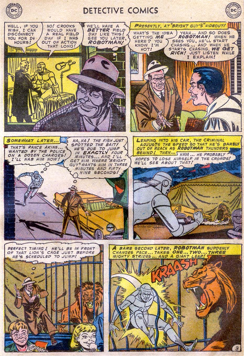 Read online Detective Comics (1937) comic -  Issue #196 - 27