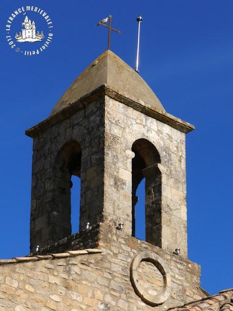 SAINT-PAULET-DE-CAISSON (30) - Chapelle romane Saint-Agnès