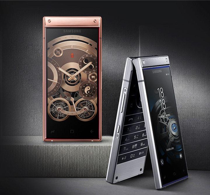 Ponsel Flip Samsung W2019 Resmi 2 Layar Snapdragon 845 Ini Spesifikasi dan Harga Tech news Android