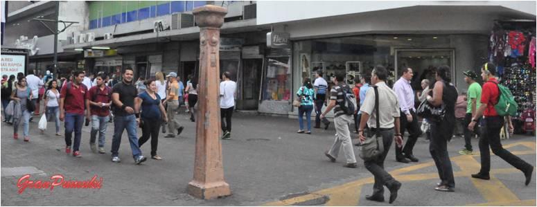 Avenida Central. Calle comercial de San José. Blog de Viajes a Costa Rica