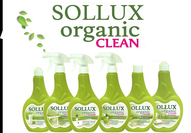 Sollux Organic Clean - polskie ekologiczne środki czystości od Lakmy + konkurs