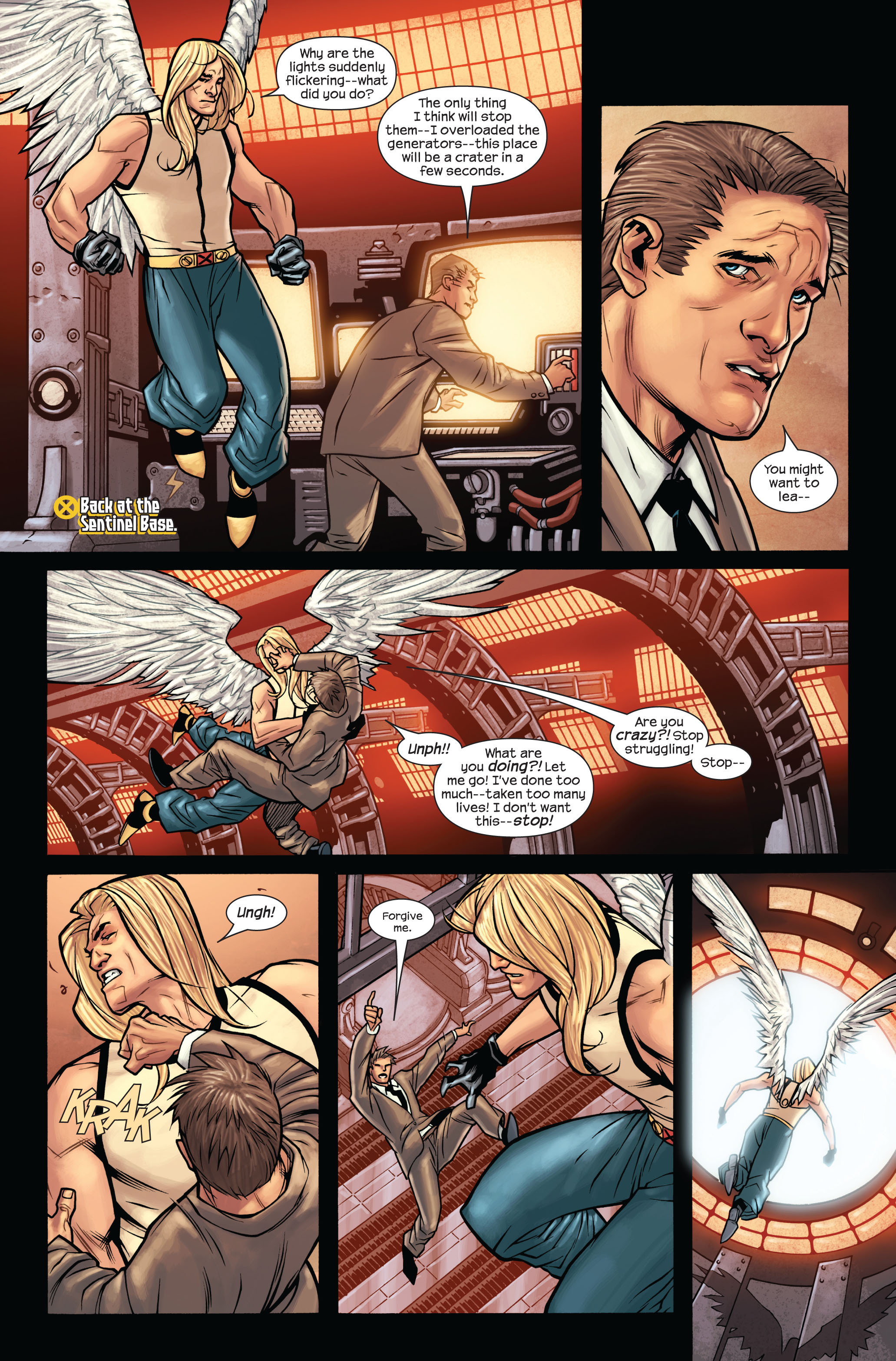 Read online Ultimate X-Men comic -  Issue #87 - 17
