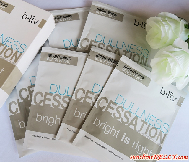 b.liv Off with Those Heads, Immerse Me & Bright is Right Face Mask Review