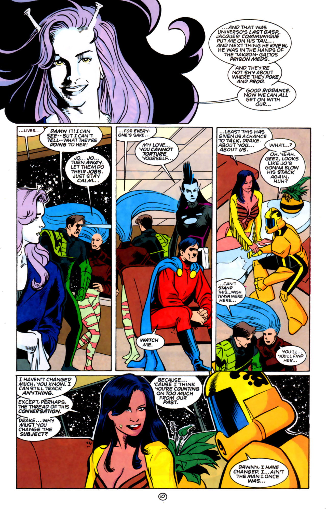 Legion of Super-Heroes (1989) 59 Page 10