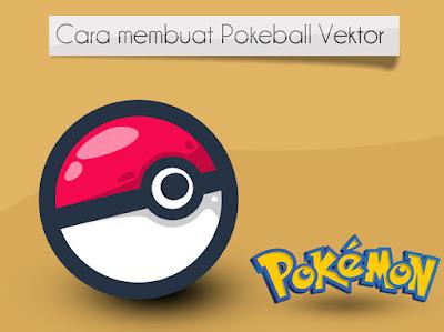salah satu Film sekaligus game yang lagi Marak dimainkan di Indonesia sob Membuat Poke ball/Pokemon Ball di Photoshop