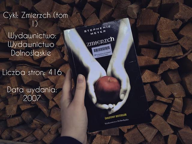 """""""Zmierzch"""" Stephenie Meyer"""