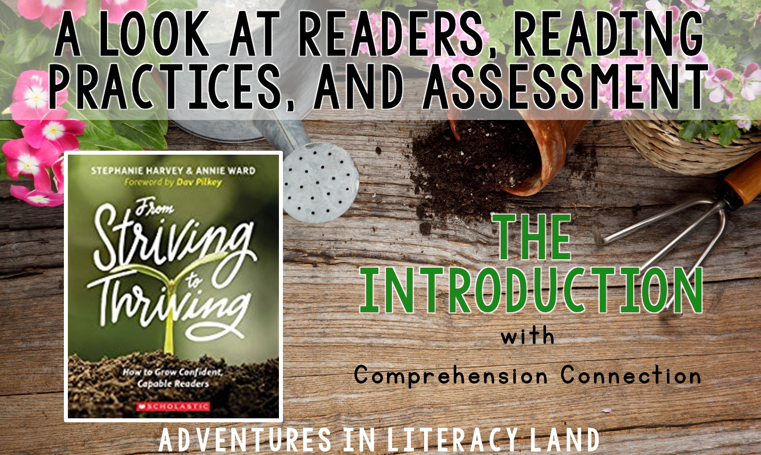 In this post, we begin our book study of From Striving to Thriving. We explore reading behaviors, current practices, and assessment before digging into new ideas.