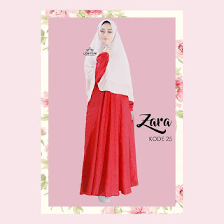 Gamis Jasmine Zara Dress 25