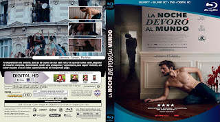 CARATULA BLURAY LA NOCHE DEVORO AL MUNDO - THE NIGHT EATS THE WORLD - 2018