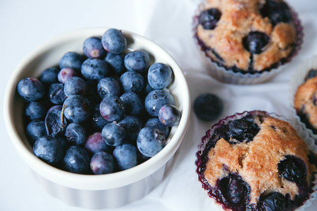 Blueberry Muffins - My Southern Sweet Tooth