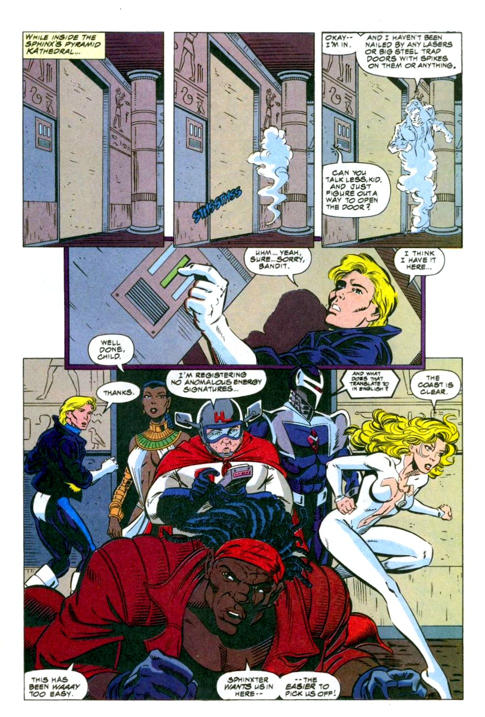 The New Warriors Issue #49 #53 - English 16