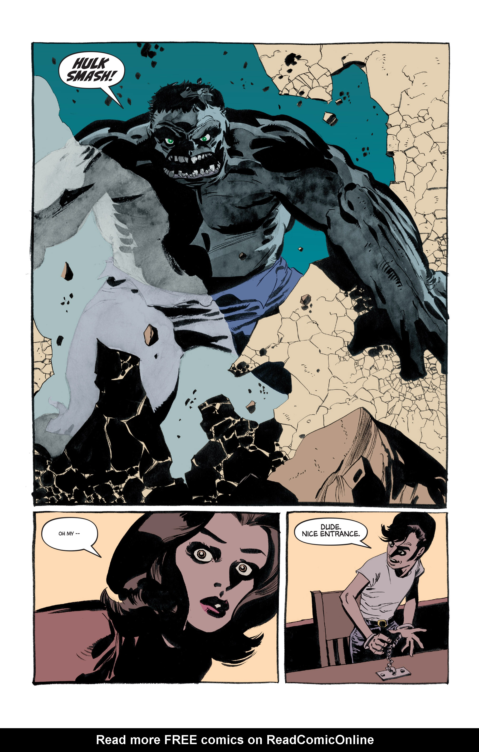 Read online Hulk: Gray comic -  Issue #3 - 18