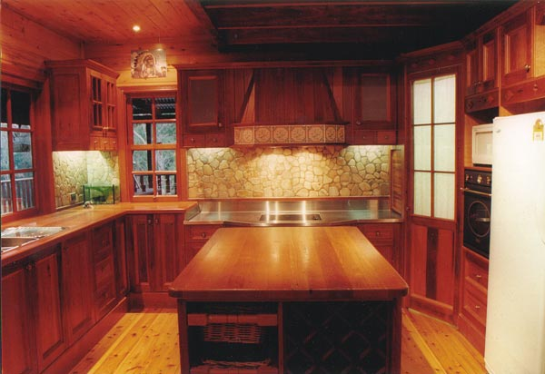 Timber Home Kitchens