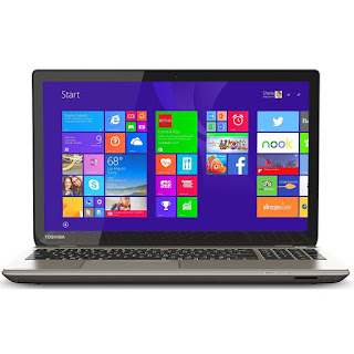 Toshiba Satellite P55T-B5154 touchscreen laptop