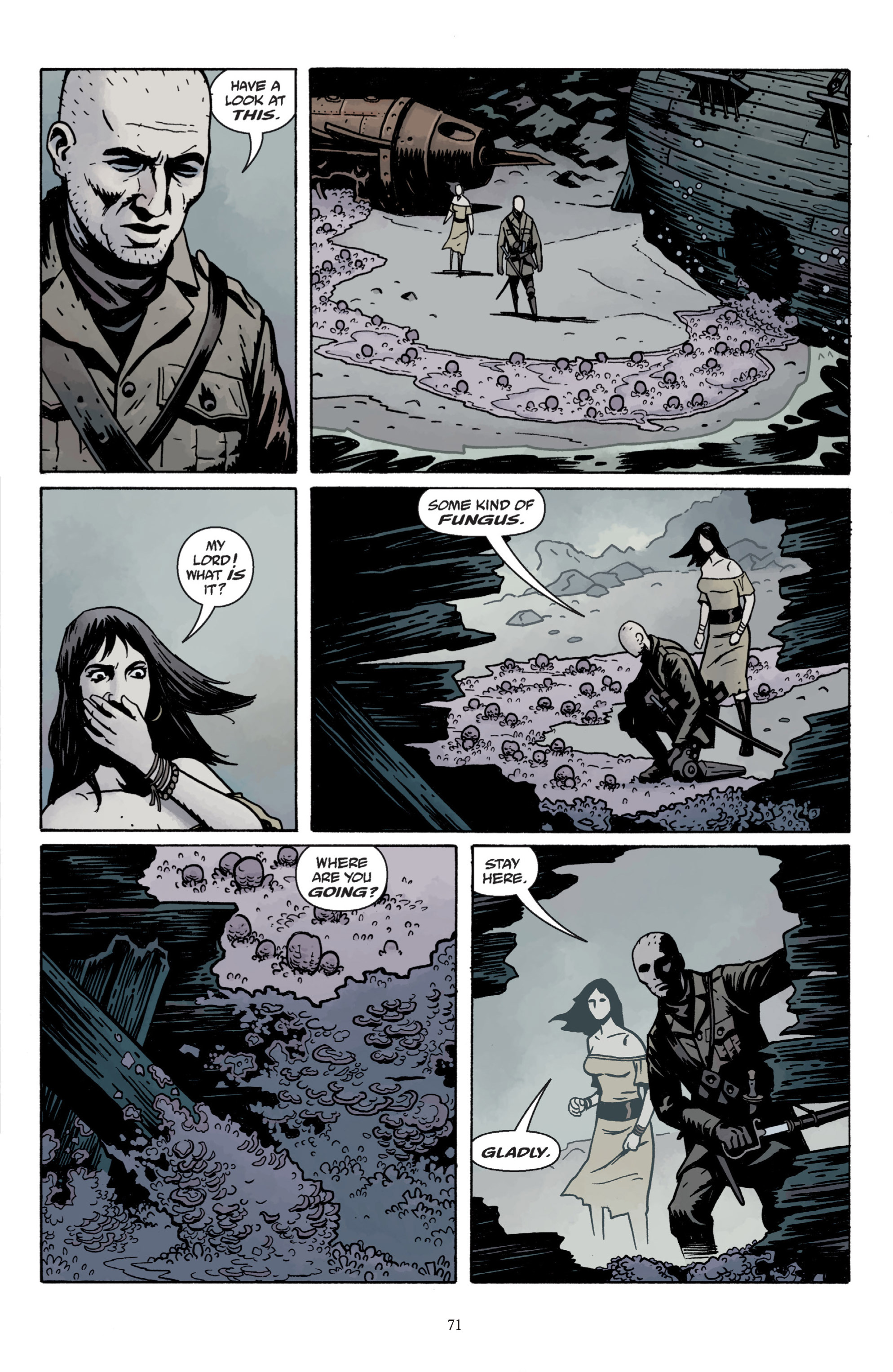 Read online Baltimore: The Plague Ships comic -  Issue # TPB - 73
