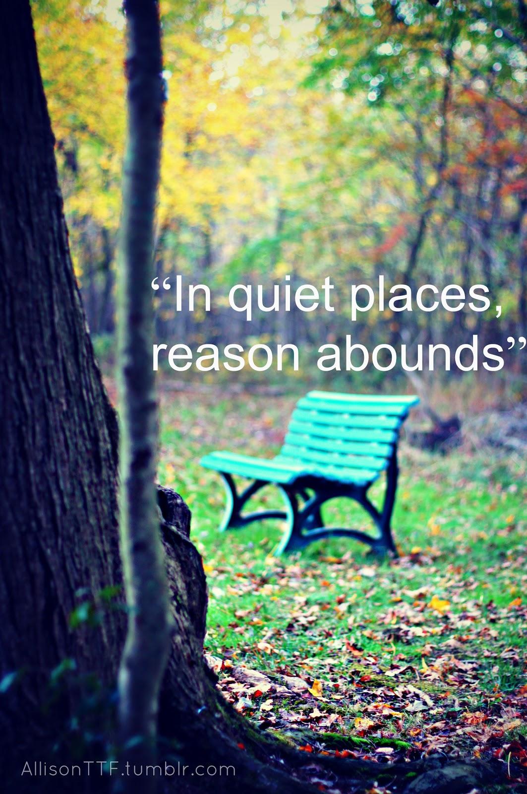 Sunday Silence of Autumn Passing Quickly - Totus Tuus ...