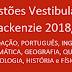 Questões Vestibular Mackenzie 2018/2