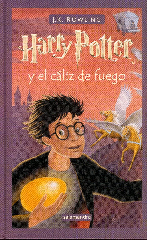 Reseña: Harry Potter y el Cáliz de Fuego (HP#4) de J. K. Rowling