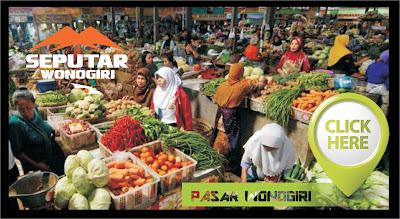 lokasi pasar di kabupaten wonogiri