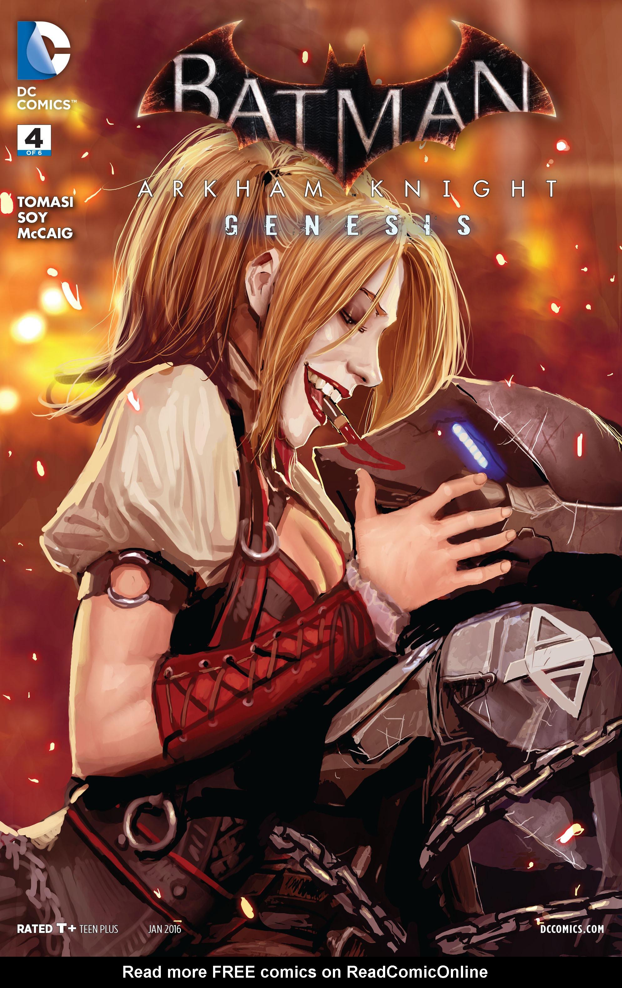 Batman: Arkham Knight: Genesis 4 Page 1
