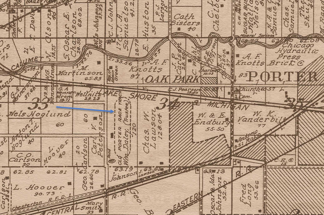 Porter Indiana Map.Porter County S Past An Amateur Historian S Perspective A Booming