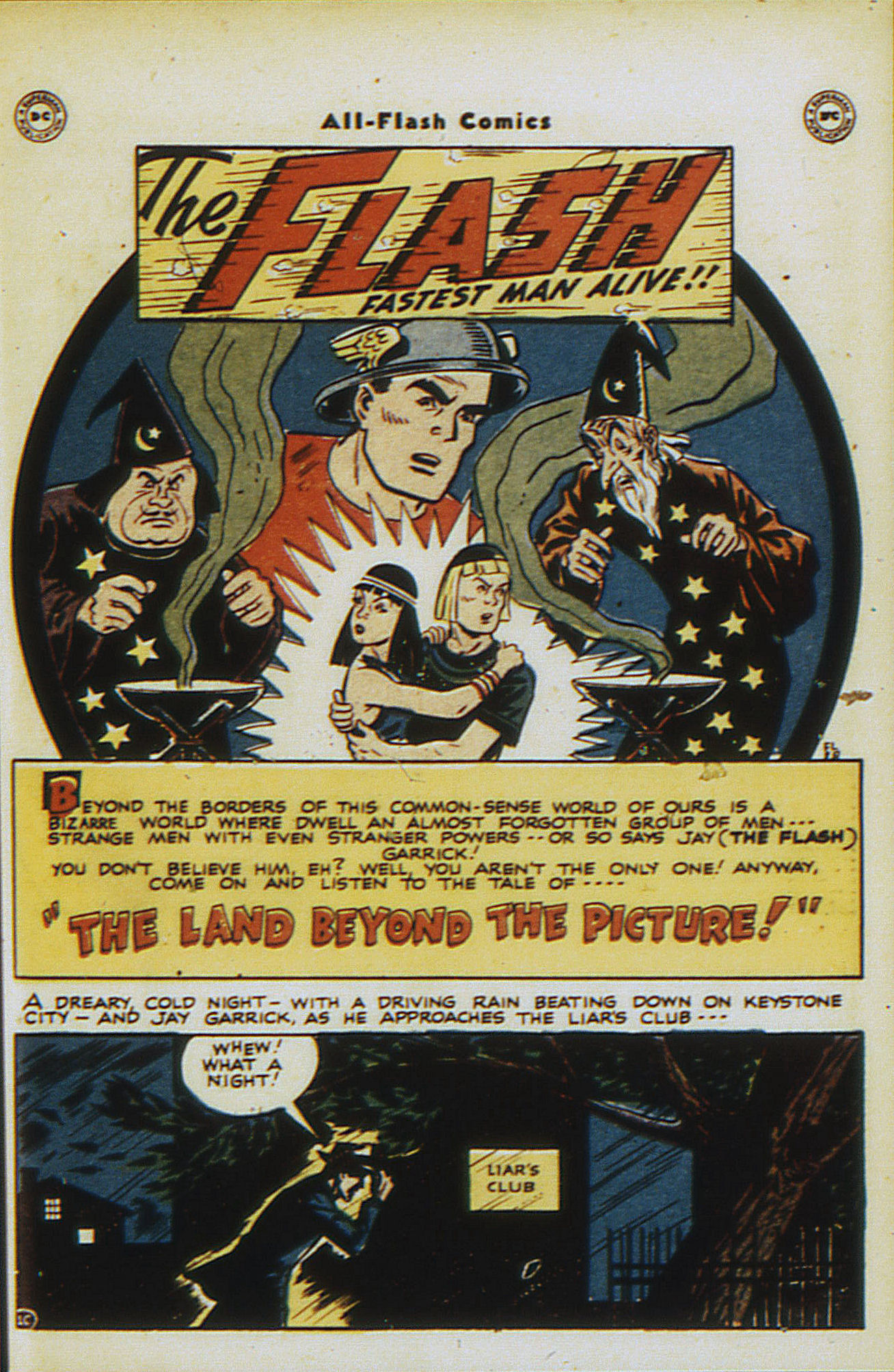 Read online All-Flash comic -  Issue #30 - 39