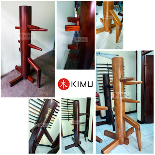 mok yan jong wooden dummy boneka kayu kungfu wingchun kimu