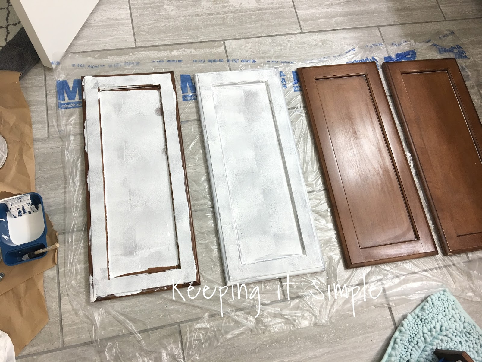 I Also Sanded And Primed The Actually Vanity