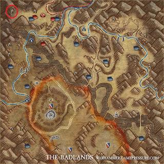 Ecco dove si trova il dungeon aperto: Tier 3 Nani-Orchi Badlands.