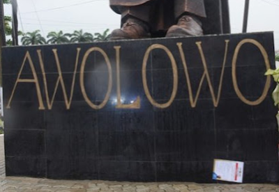 photos late obafemi awolowo�s statue of honour unveiled