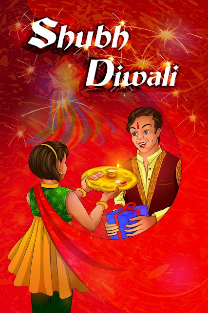 Diwali Greeting Card For Kids